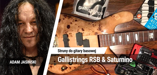 Struny do gitary basowej Gallistrings RSB & Saturnino