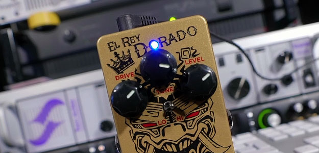 El Rey Dorado Distortion - Nowość w katalogu Keeley