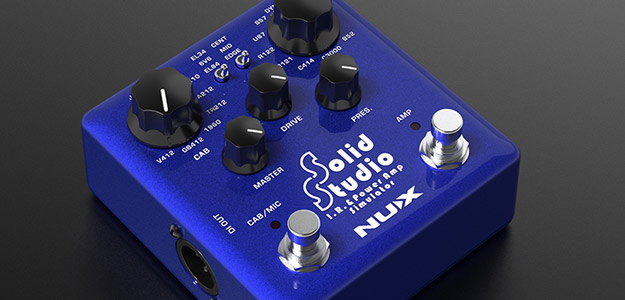 Nux prezentuje SS-5 Solid Studio IR & Power Amp Simulator