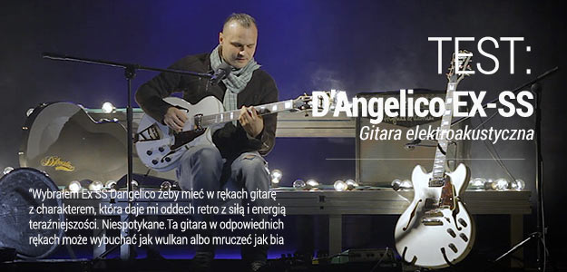 Test gitary Semi-Hollow D'Angelico EX-SS