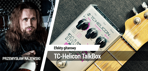 Efekt gitarowy TC-Helicon TalkBox Synth