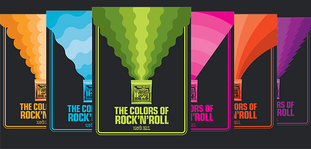 Ernie Ball rusza z kampanią The Colors of Rock and Roll