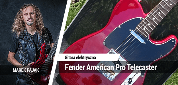 TEST: Fender American Pro Telecaster RW CRT