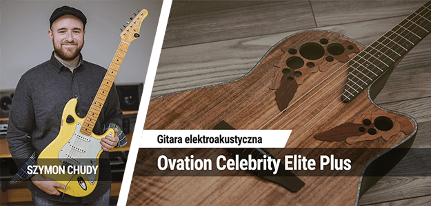 Gitara akustyczma Ovation Celebrity Elite Plus