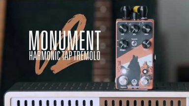 Walrus Audio Monument Harmonic Tap Tremolo V2 Tech Demo