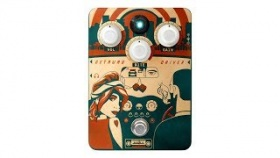 Orange Getaway Driver - Guitar Pedal