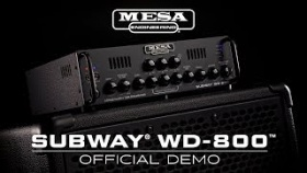 MESA/Boogie Subway? WD-800? Bass Amp Official Demo