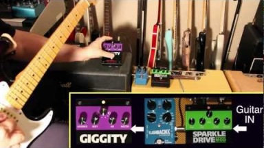 Giggity & Sparkle Drive MOD - Woman / Violin Style Tones