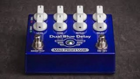 Mad Professor Dual Blue Delay demo part 3 by Marko Karhu
