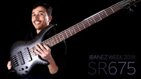 Ibanez SR675 Bass - Demo Review (ITA) Namm 2018