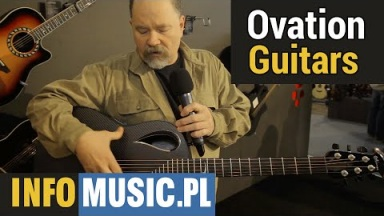 Ovation Guitars na Musikmesse 2015