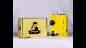 Lightning Boy Audio Thunder Knob high voltage 12AX7 overdrive FX pedal