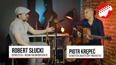 Infogitara sessions: Piotr Krępeć
