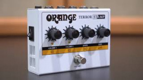 Orange Terror Stamp - A Class AB 20 Watt Guitar Amp in a pedal