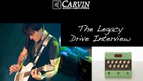 Steve Vai talks about the new Legacy Drive preamp pedal that he designed with Carvin Audio.