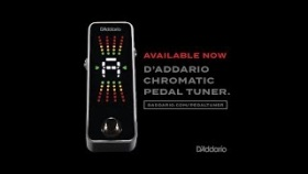 D'Addario Accessories: Chromatic Pedal Tuner