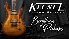 Kiesel Guitars - Beryllium Pickups Demo