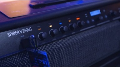 Line 6 Spider V 240HC Head/Combo Amplifier at Winter NAMM 2017